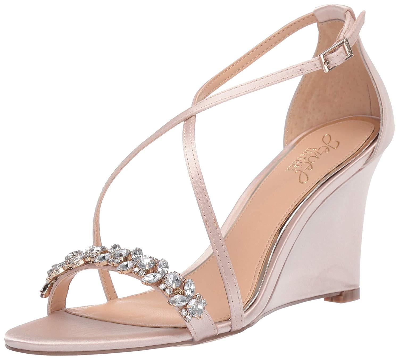 699c5b548d1f Badgley Mischka Jewel Women s Little Wedge Sandal