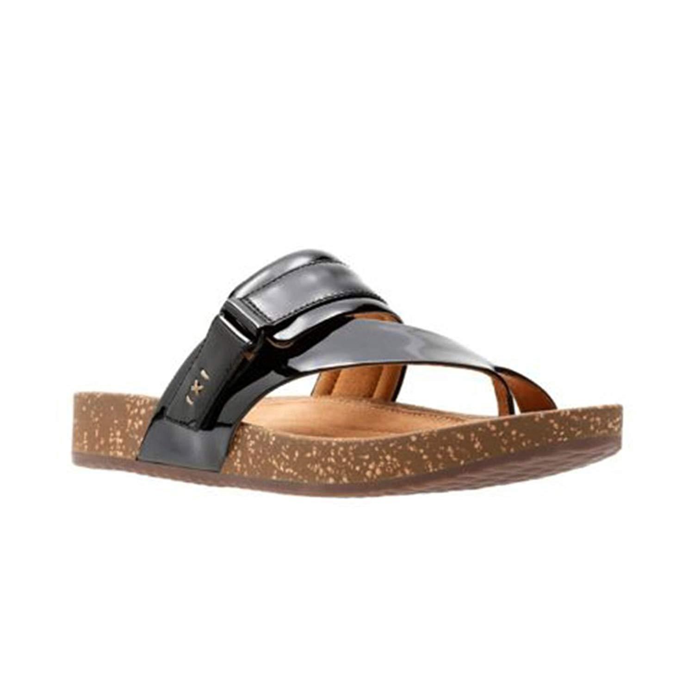 e6d4c083dd32f CLARKS Womens Rosilla Durham Open Toe Casual Slide Sandals