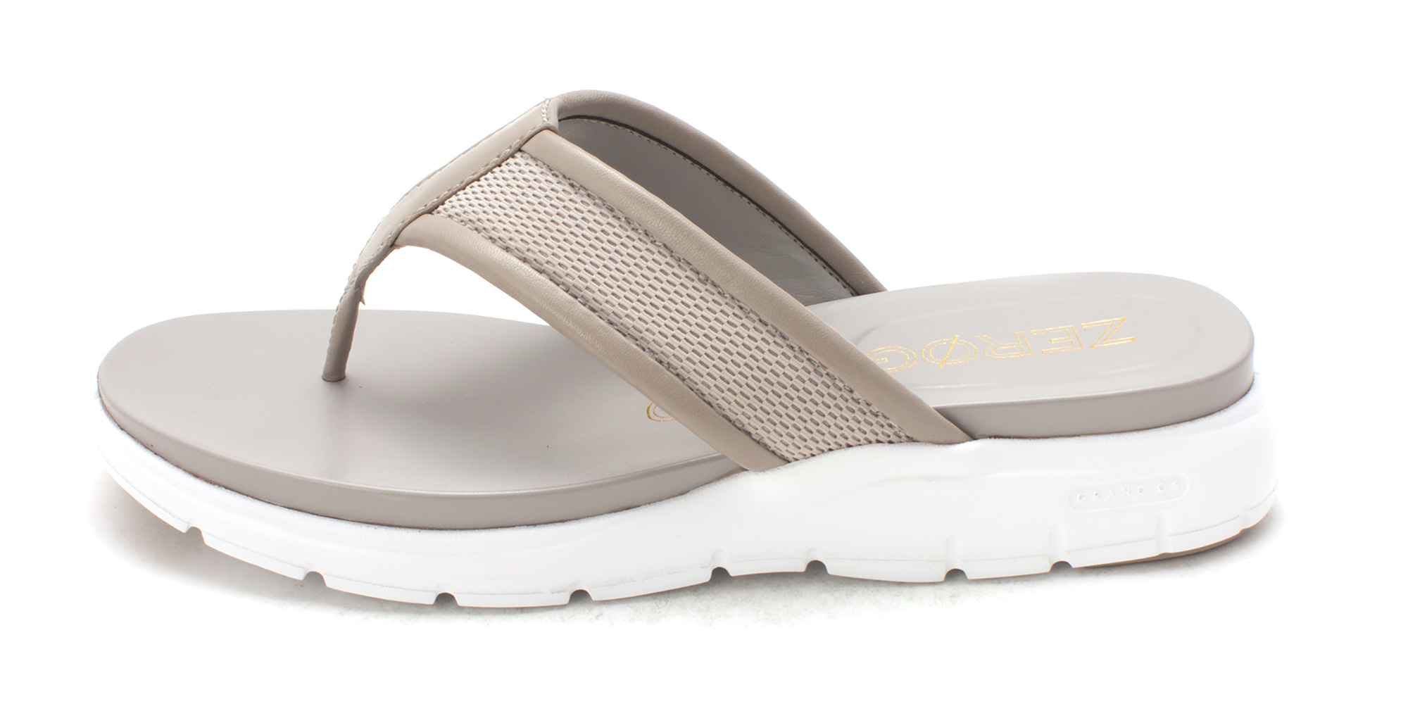Cole Haan Womens Josefasam Open Toe Casual TStrap Sandals Grey Size 60