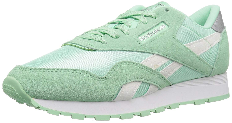 cc98ec4fa26da2 Kids Reebok Boys Classic Junior CN5022 Leather Low Top Lace Up Running  Sneaker