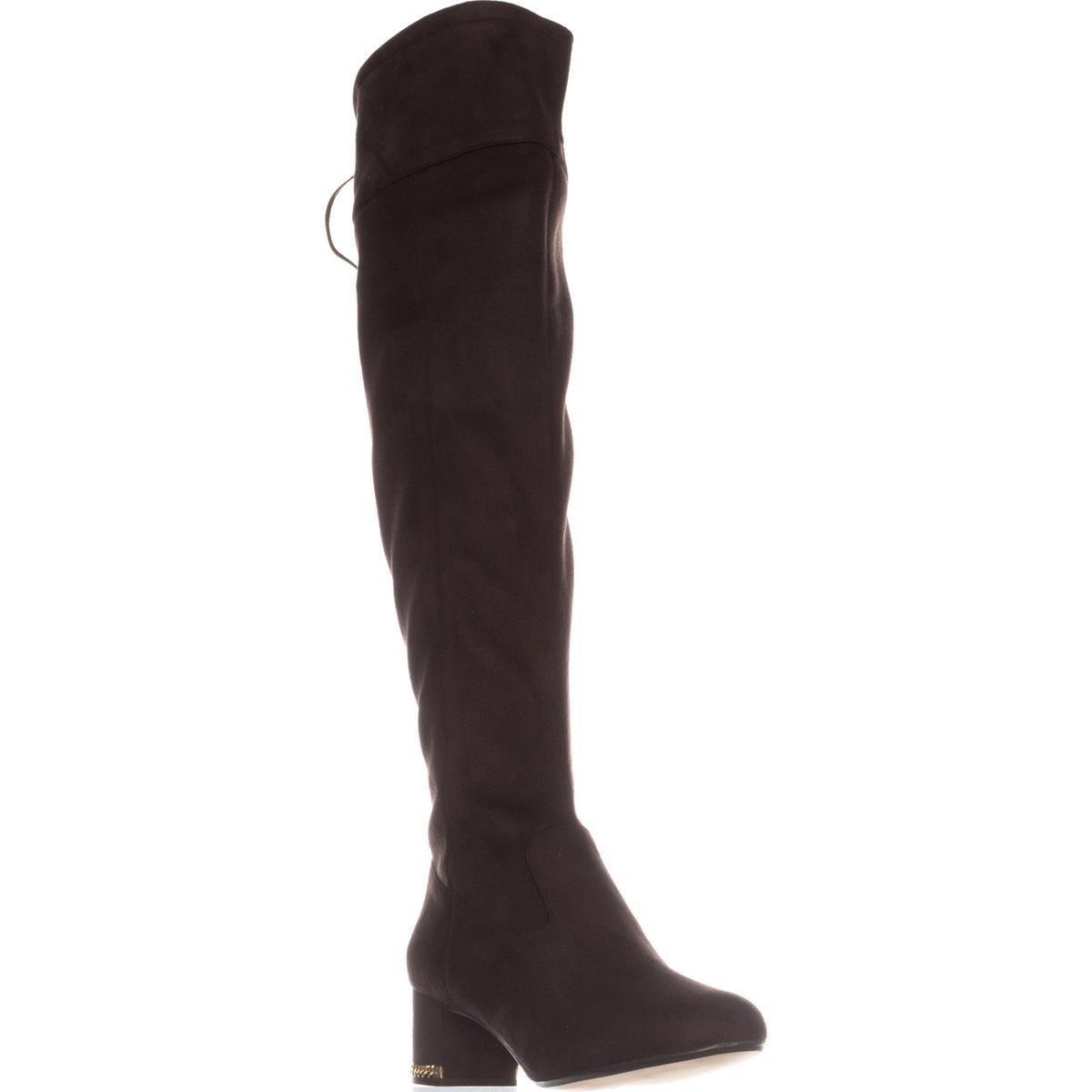 f57ee696b01 Michael Kors Womens Jamie Suede Almond Toe Over Knee Fashion Boots ...