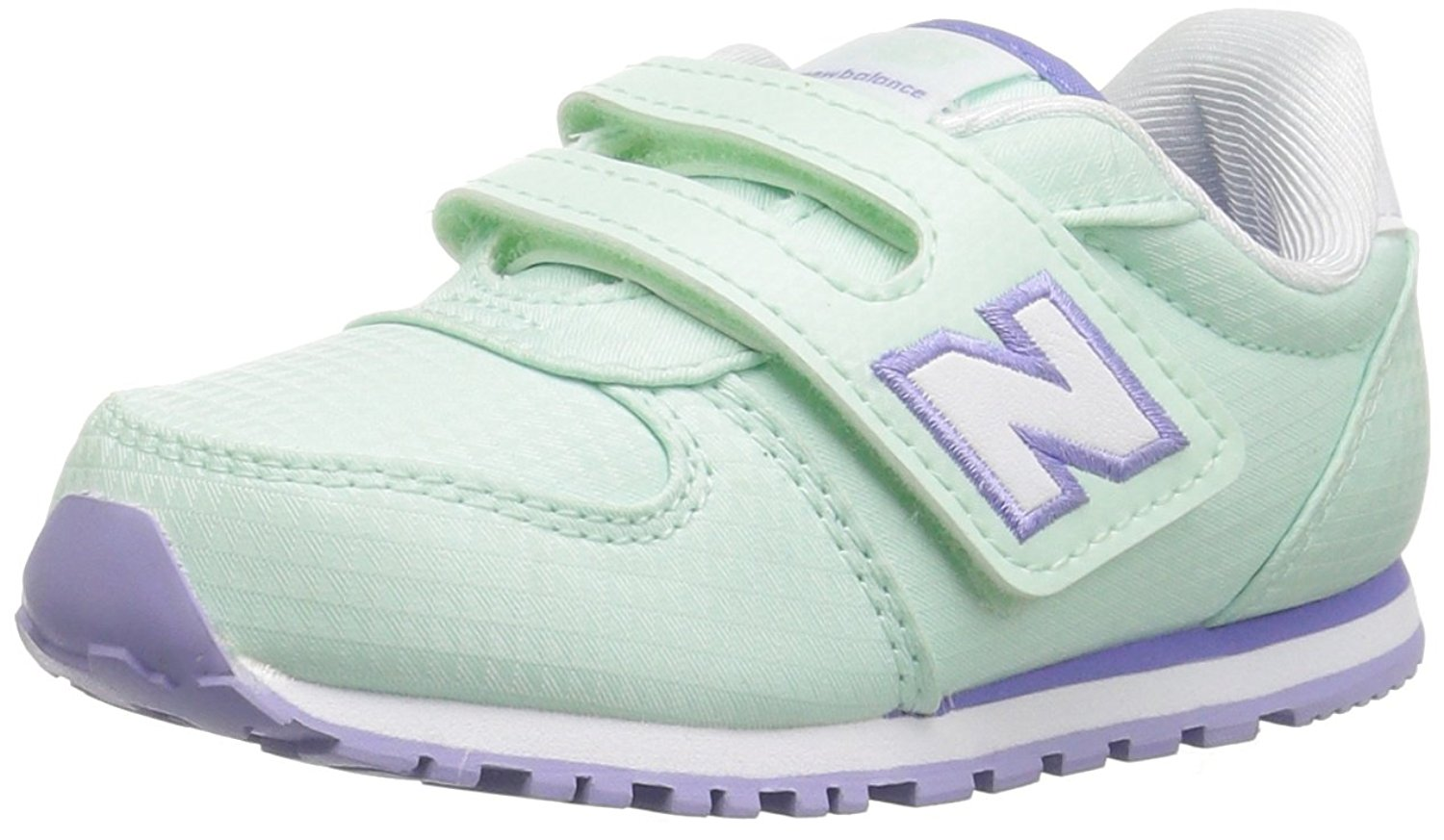 New Balance Girls KA311SGI Low Top Lace Up Walking LIME GREEN VIOLET Size 8 M