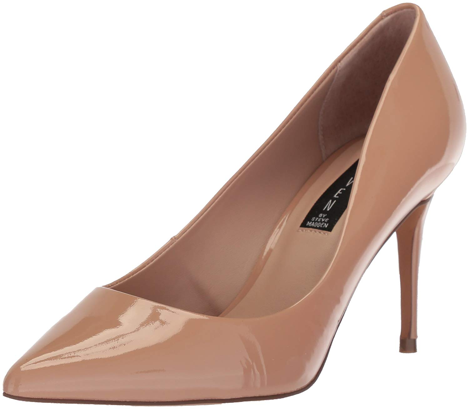 4130af027ae Steven by Steve Madden local Womens Heels   Pumps Dark Blush Patent 9 US    7 UK