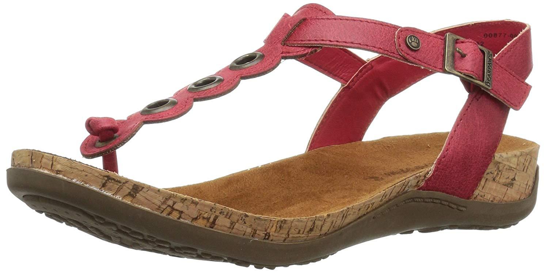 BEARPAW Women's Jean Heeled Sandal