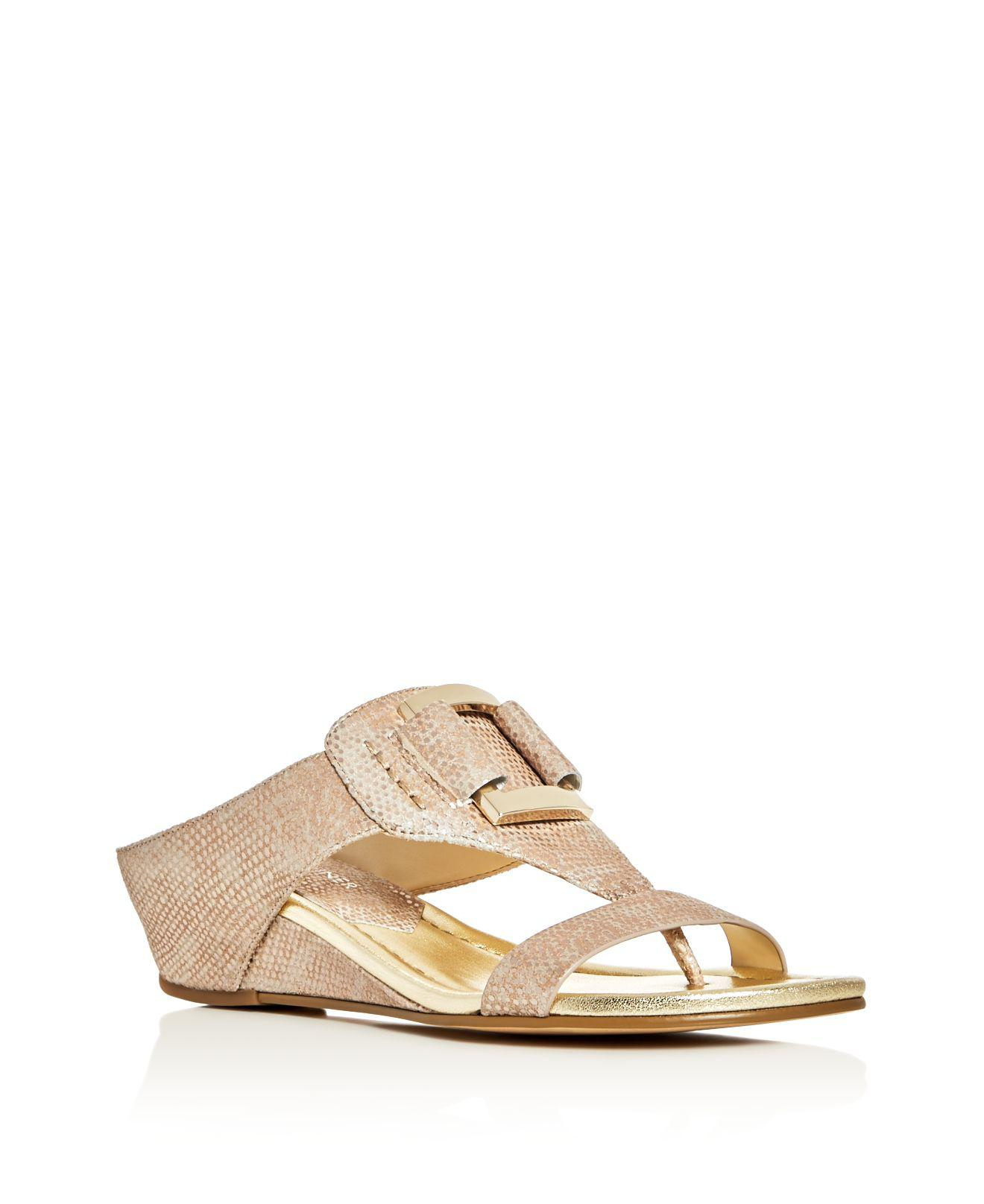 Donald J Pliner Womens duanan Fabric Open Toe platinovintage lizard Size 50
