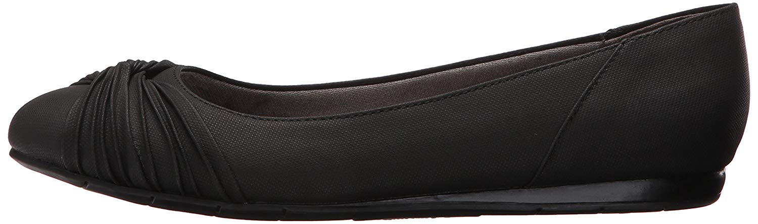 LifeStride Womens notorious Closed Toe Mules, Black, Size 8.
