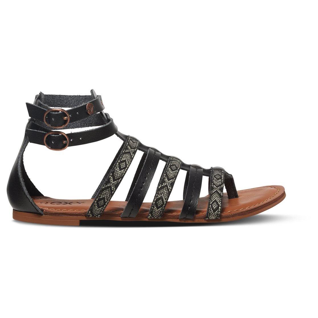 Roxy Womens Emilia Split Toe Casual Gladiator Sandals Tan Size 90