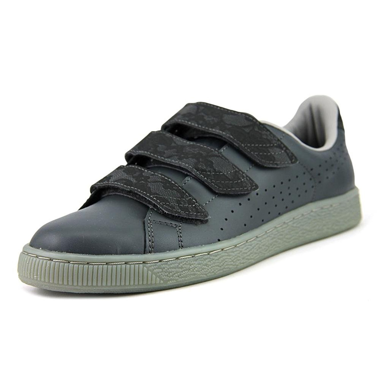 Puma Basket Strap Gray FM Dark Shadow drizzle Size 6.0