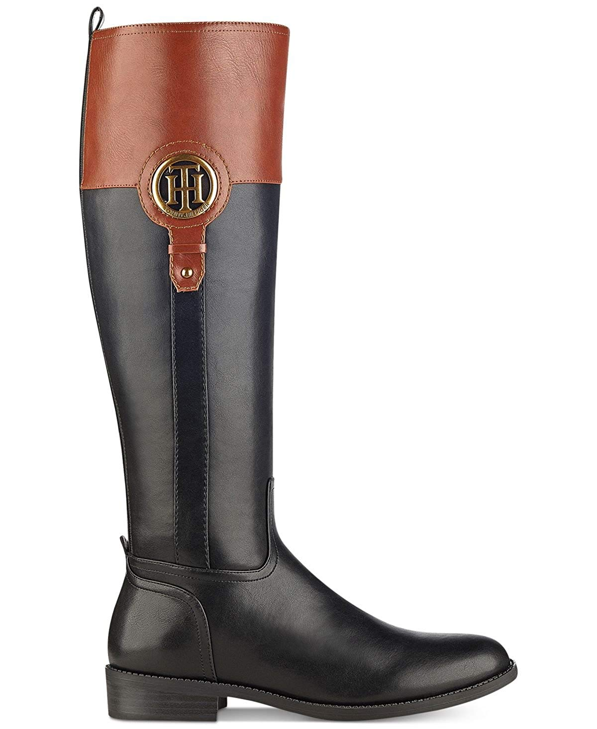 38bb5cb74d7 Tommy Hilfiger Womens ilia-2 Almond Toe Knee High Fashion Boots