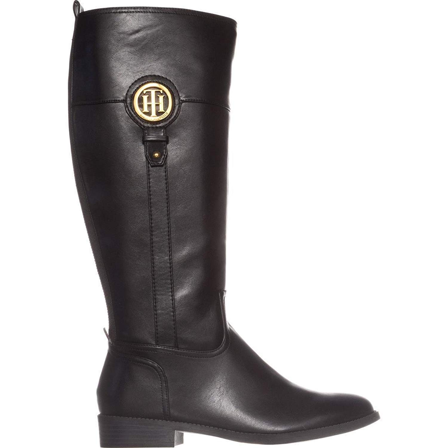 84e52232c Tommy Hilfiger Womens ilia-2 Almond Toe Knee High Fashion Boots