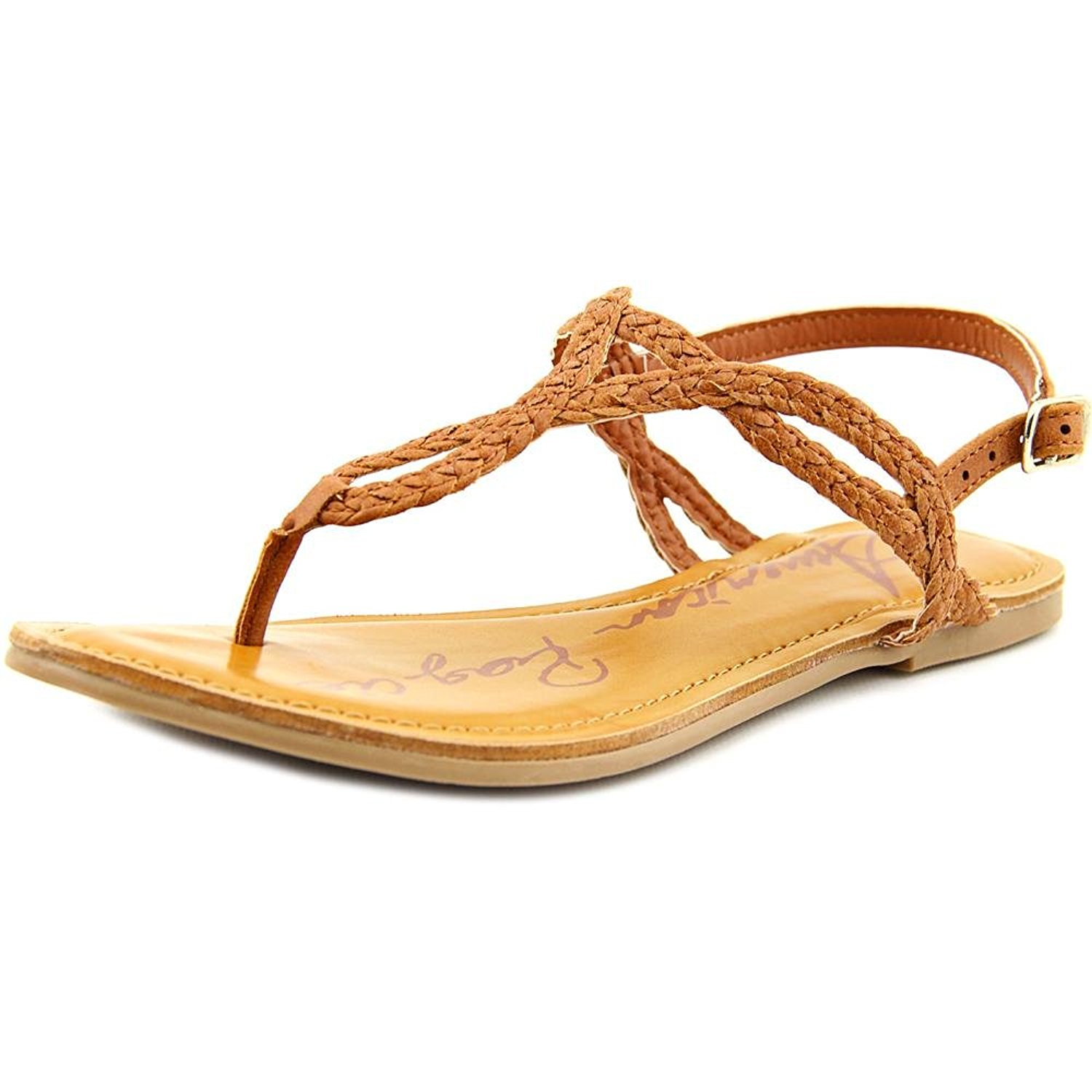 90376437e33b American Rag Keira Womens Flat Sandals Cognac 8.5 US   6.5 UK ...