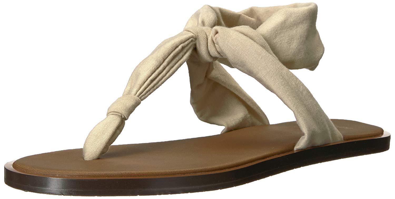 b30f30dfb2e6 Details about Sanuk Women s Yoga Sling Ella LX Flip-Flop