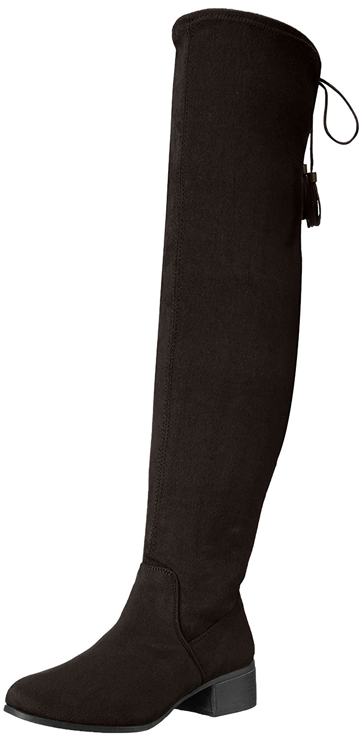 dcdf0d44d797 Details about Madden Girl Womens PRISSLEY Closed Toe Over Knee Fashion