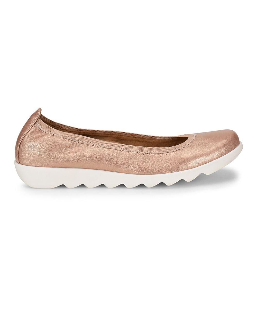 Closed Leather Grace damen Toe Comfortiva Flats Ballet