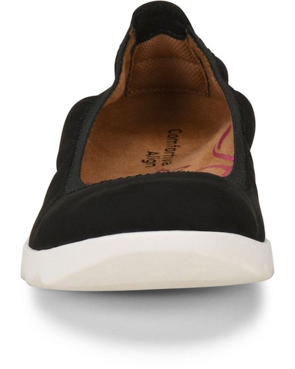 Comfortiva-Womens-Grace-Leather-Closed-Toe-Ballet-Flats thumbnail 7