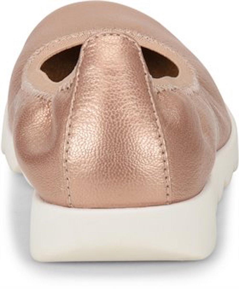 Comfortiva-Womens-Grace-Leather-Closed-Toe-Ballet-Flats thumbnail 10