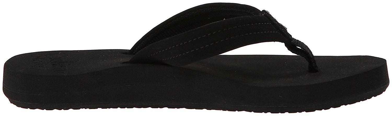 Reef Womens Cushion Breeze Sandal, Black Black, Size 80 -8101