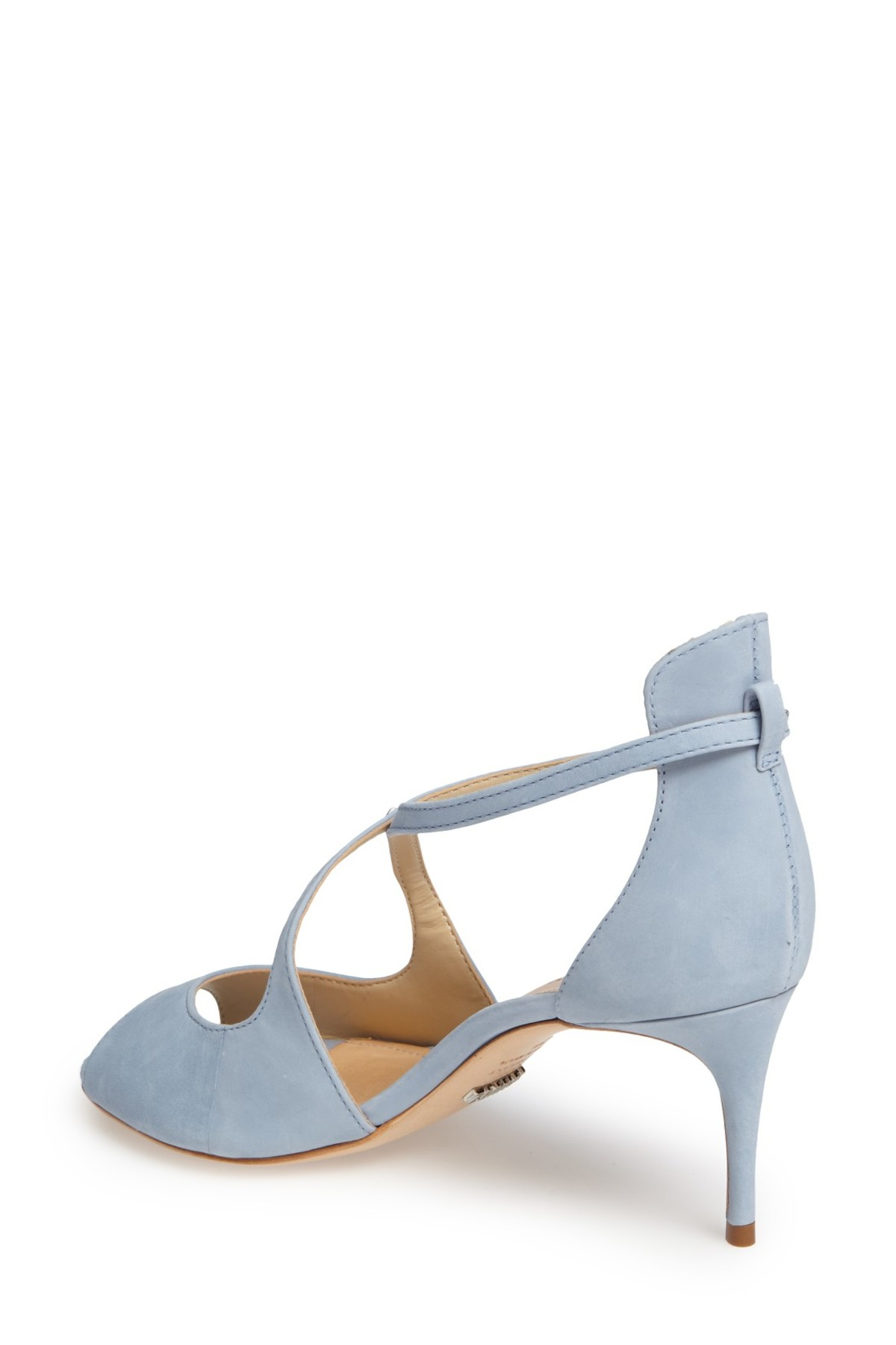 bf6468dcc64 Schutz Womens Zach Leather Peep Toe Special Occasion Slingback Sandals