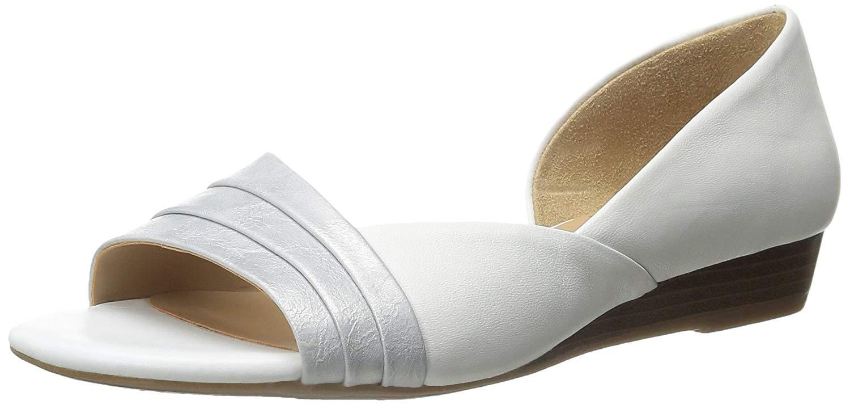 Naturalizer Damenschuhe Jenah Leder Open Toe Casual Casual Toe Platform, Taupe ... c6f25c