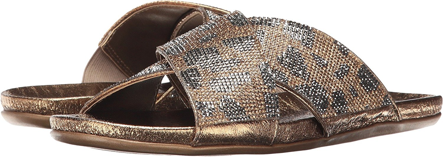 2d187c0c2f Kenneth Cole Reaction slim jam Womens Flat Sandals Bronze 6.5 US   4.5 UK