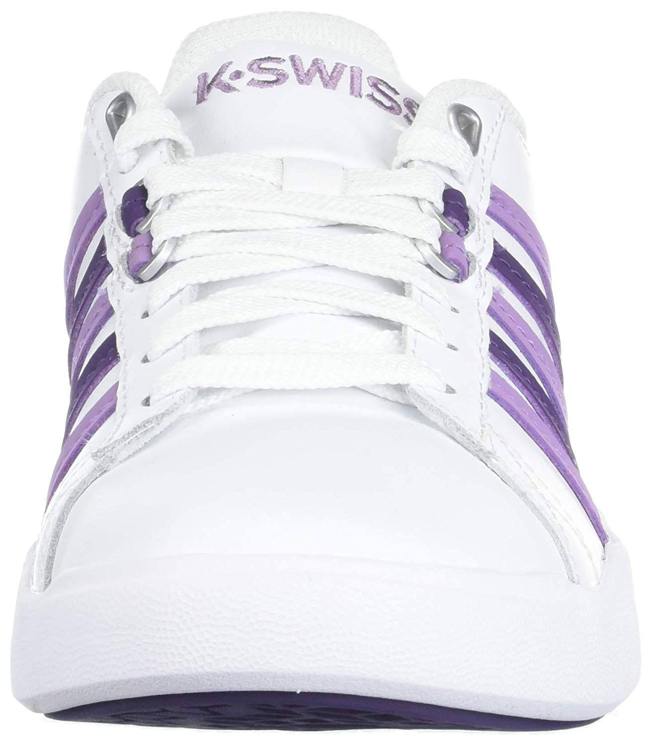 eec9928e97f8d Details about K-Swiss Women's Pershing Court Light CMF Sneaker, White, Size  9.0 azea
