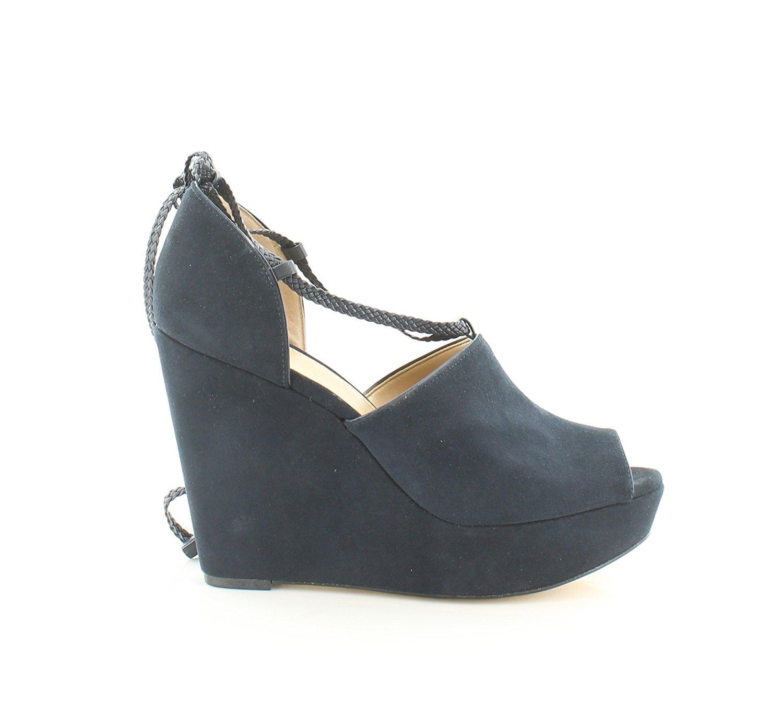 a633c2443d4 Michael Kors Womens Hastings Leather Peep Toe Casual