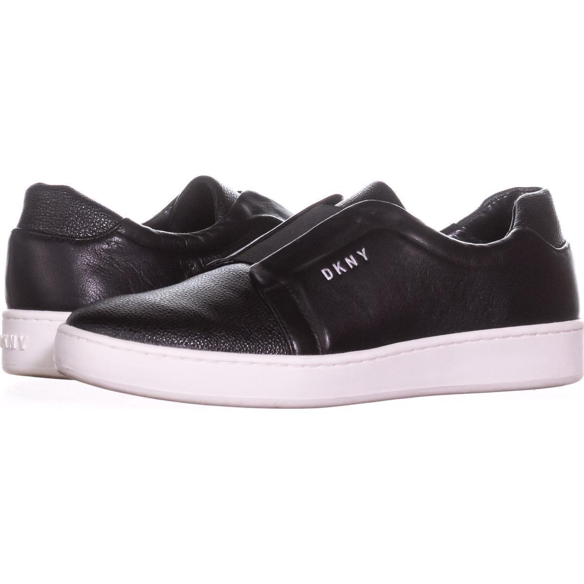 5 8 Leather R2jb Womens Details Fashion About SneakersBlackSize Top Low Slip Dkny Bobbi On 5jScRL34Aq