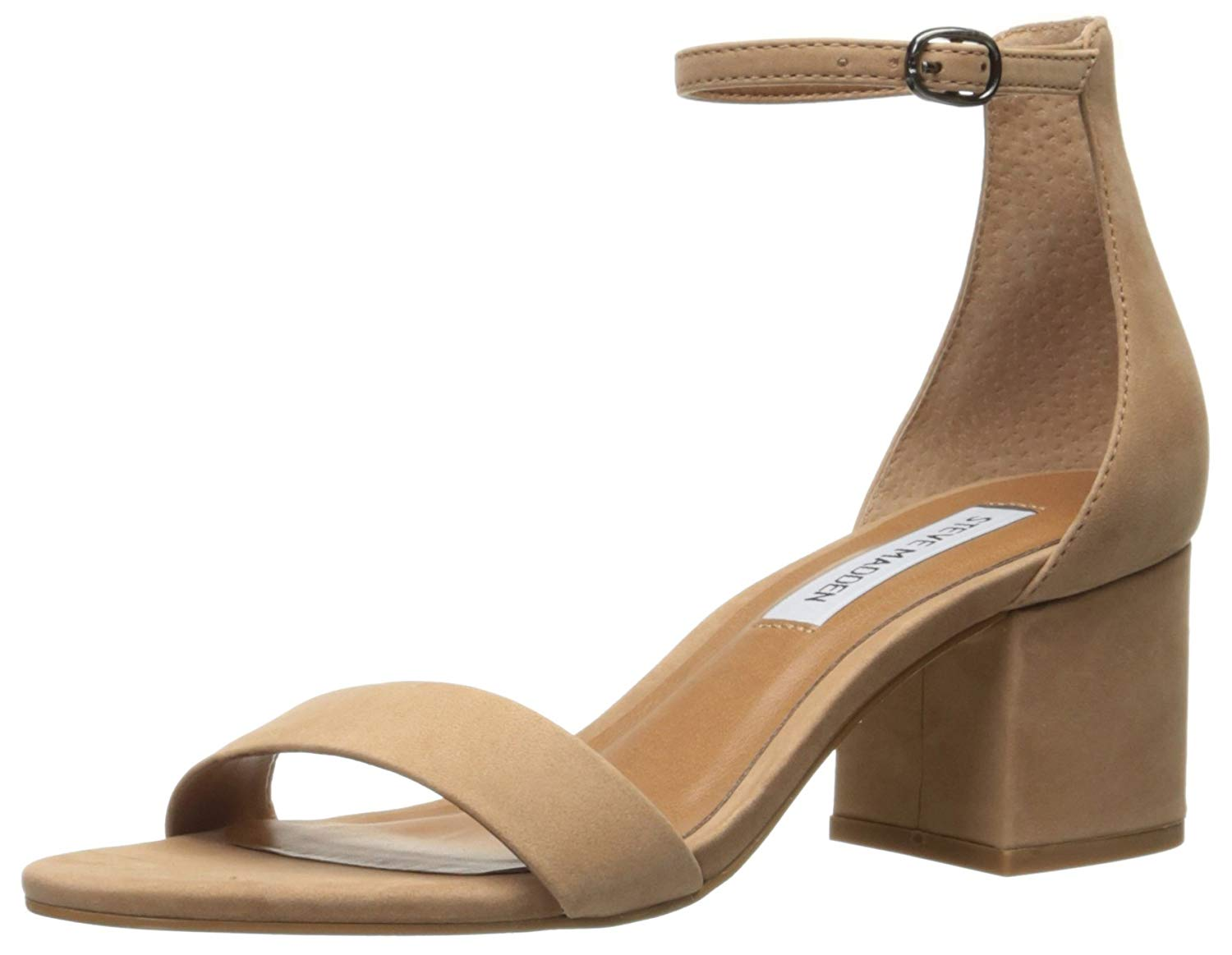 094c5211d67 Details about Steve Madden Womens Irenee Suede Open Toe Formal Ankle, Tan  Nubuck, Size 11.0 gn