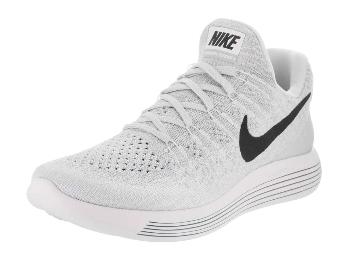 2c856cf73f18 Nike Mens Lunarepic Low Flyknit 2 Low Top Lace Up Running Sneaker