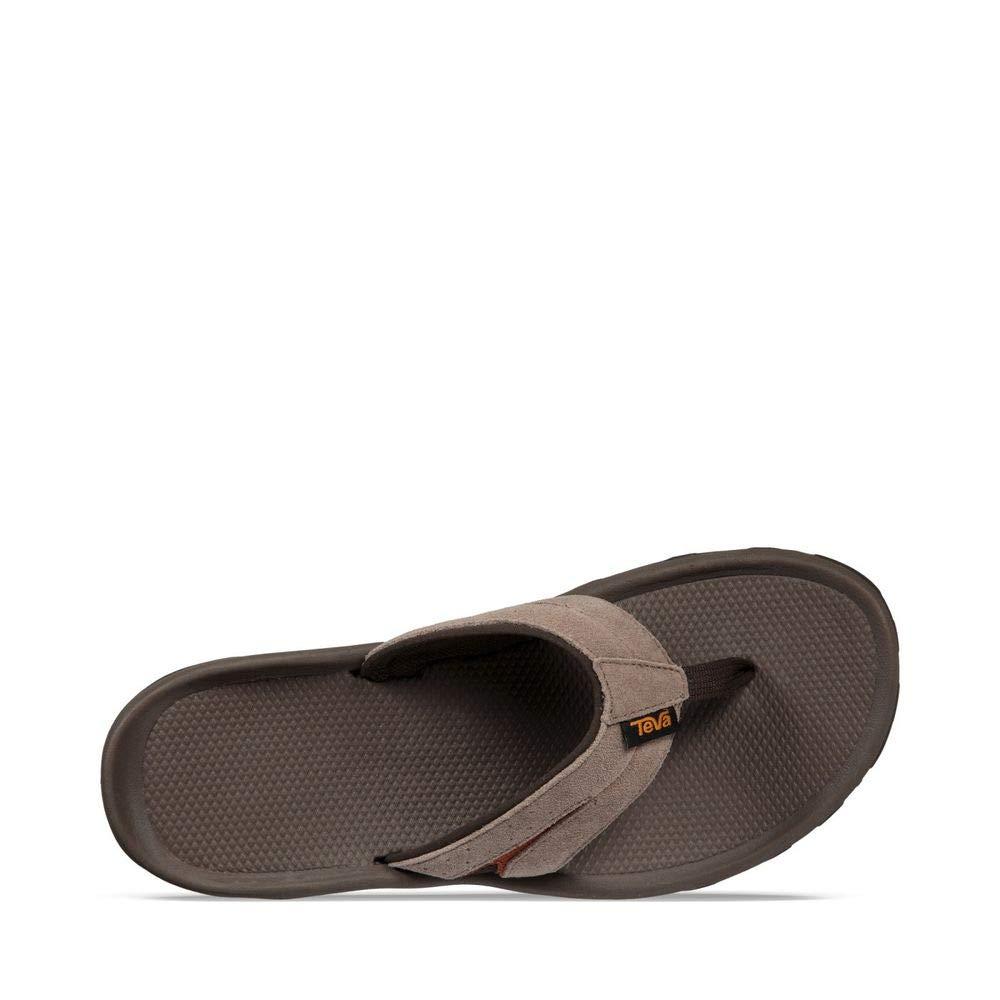 best website b8517 97ad1 Details about Teva Men's Katavi Thong Flip-Flop, Walnut, Size 9.0 97we
