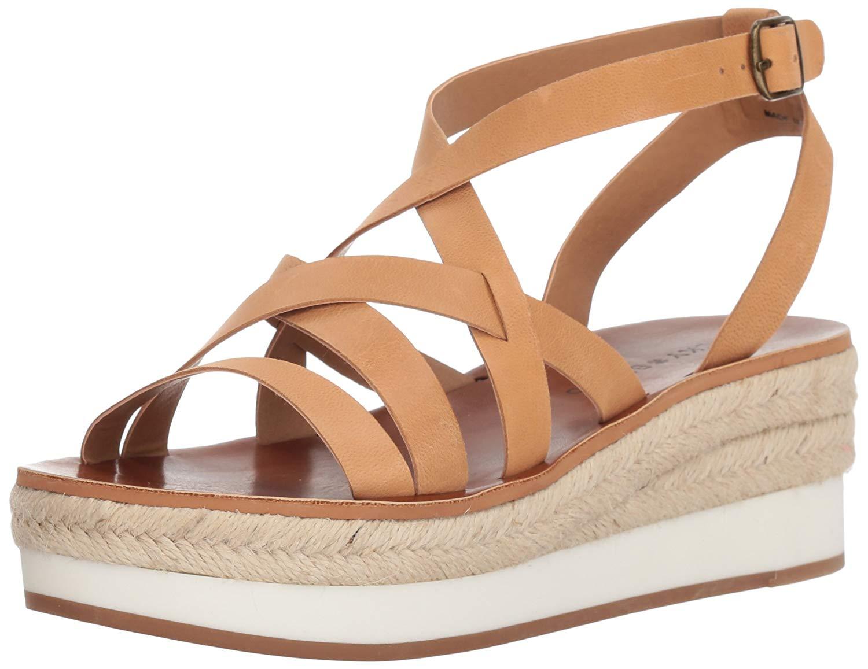 337d162c114 Details about Lucky Brand Women's Jenepper Espadrille Wedge Sandal,  Macaroon, Size 8.5 xEIc