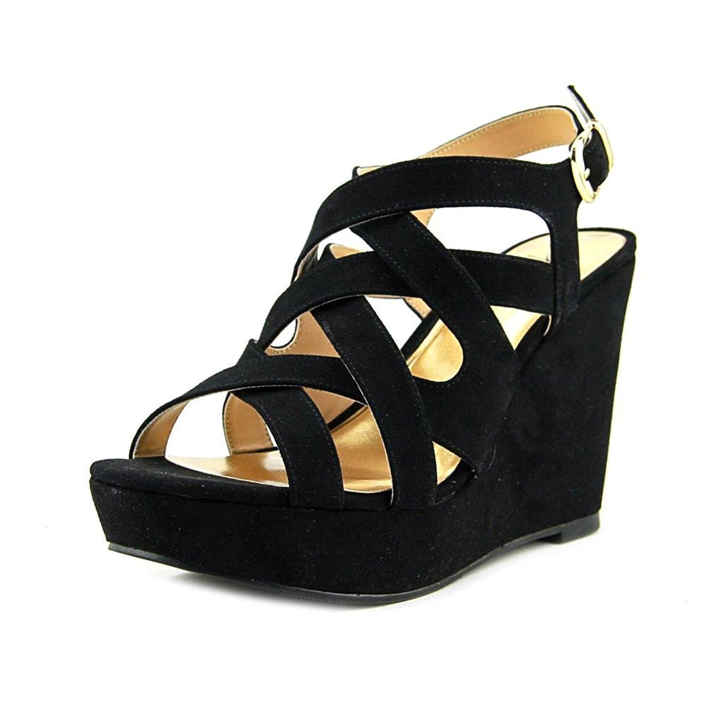0597171e7ccd Thalia Sodi Womens Maddora Suede Open Toe Casual Platform Sandals