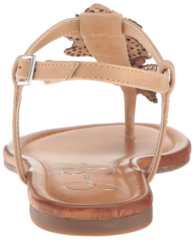 Jessica Kiandra Simpson Damenschuhe Kiandra Jessica Leder Open Toe Casual T Strap 3b9708