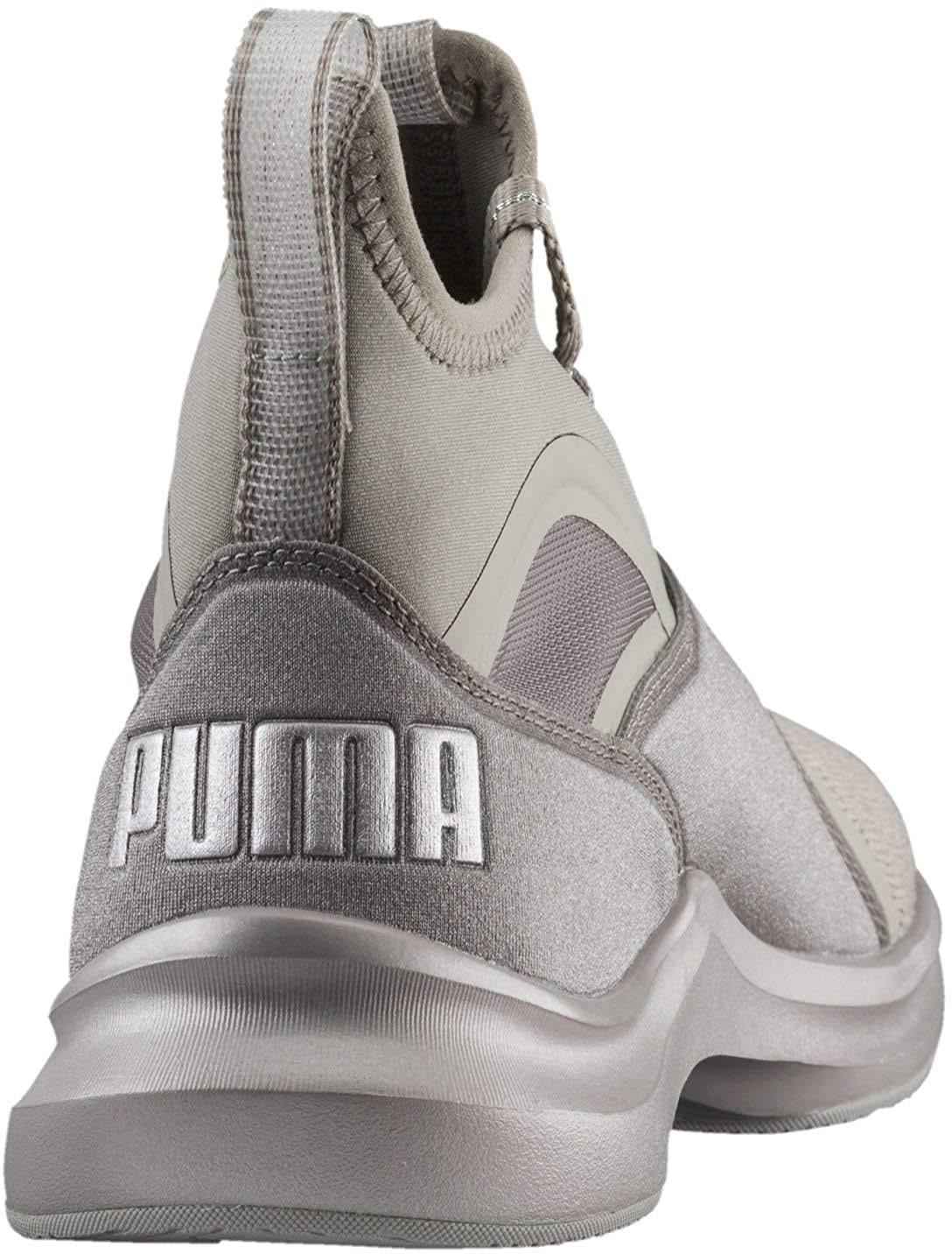 b3e2dc5c94a023 PUMA Women s Phenom Ep High-Top Fabric Running Shoe