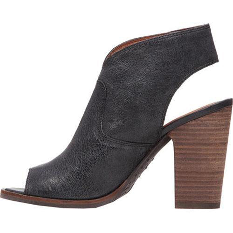 Lucky Brand Womens LIZETTE Lizard Peep Toe Casual Mule Sandals Black Size 80