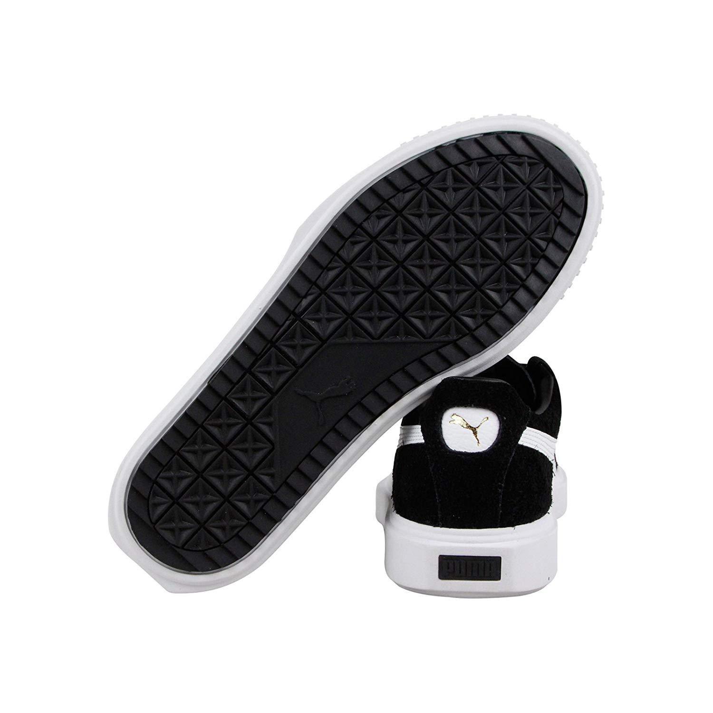 3ecbff277558 PUMA Breaker Mens Black Suede Lace Up Sneakers Shoes