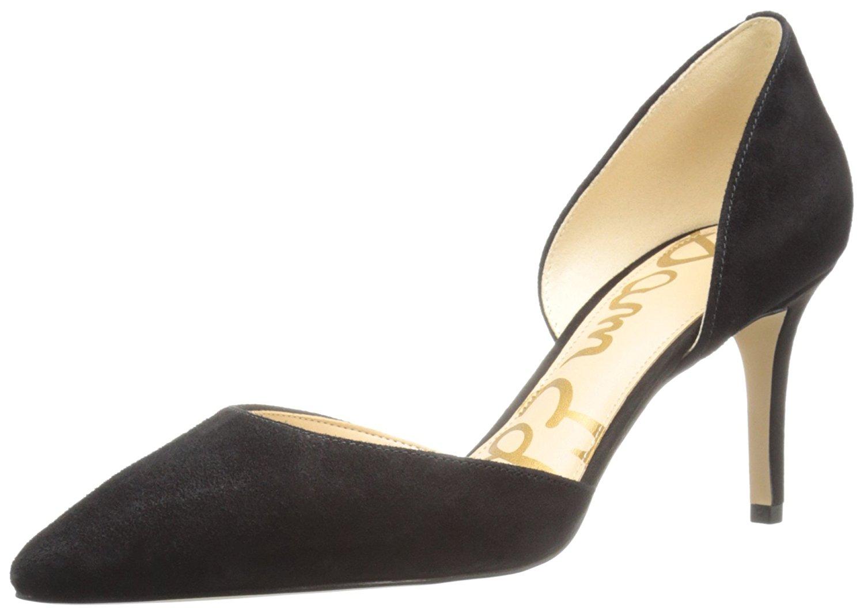 c5dce87540fb Sam Edelman Womens Telsa Leather Pointed Toe D-orsay