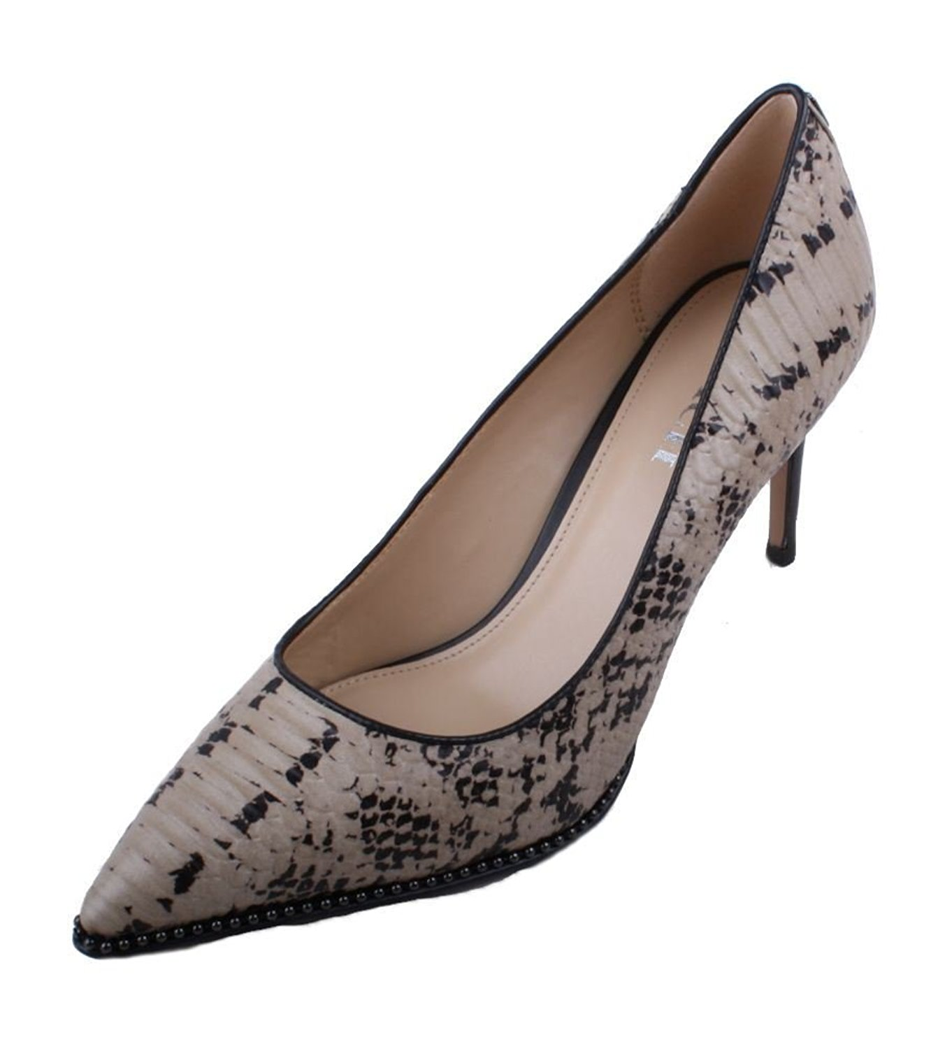 Coach Womens Vonna Leather Pointed Toe Classic Pumps