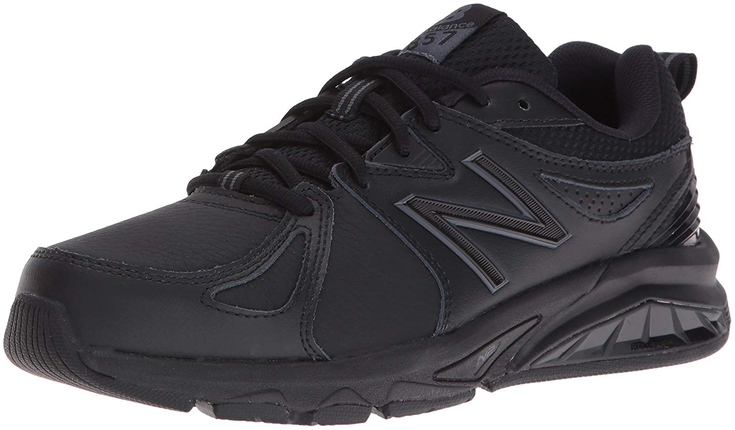 Details about New Balance Womens WX857V2 Leather Low Top Lace Up Running Sneaker