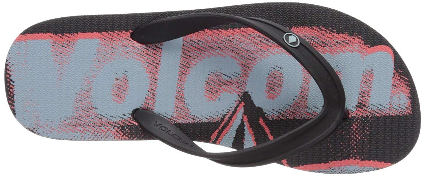 fdcc98d5450e75 Volcom Men s Rocker 2 Graphic Print Sandal FLIP Flop