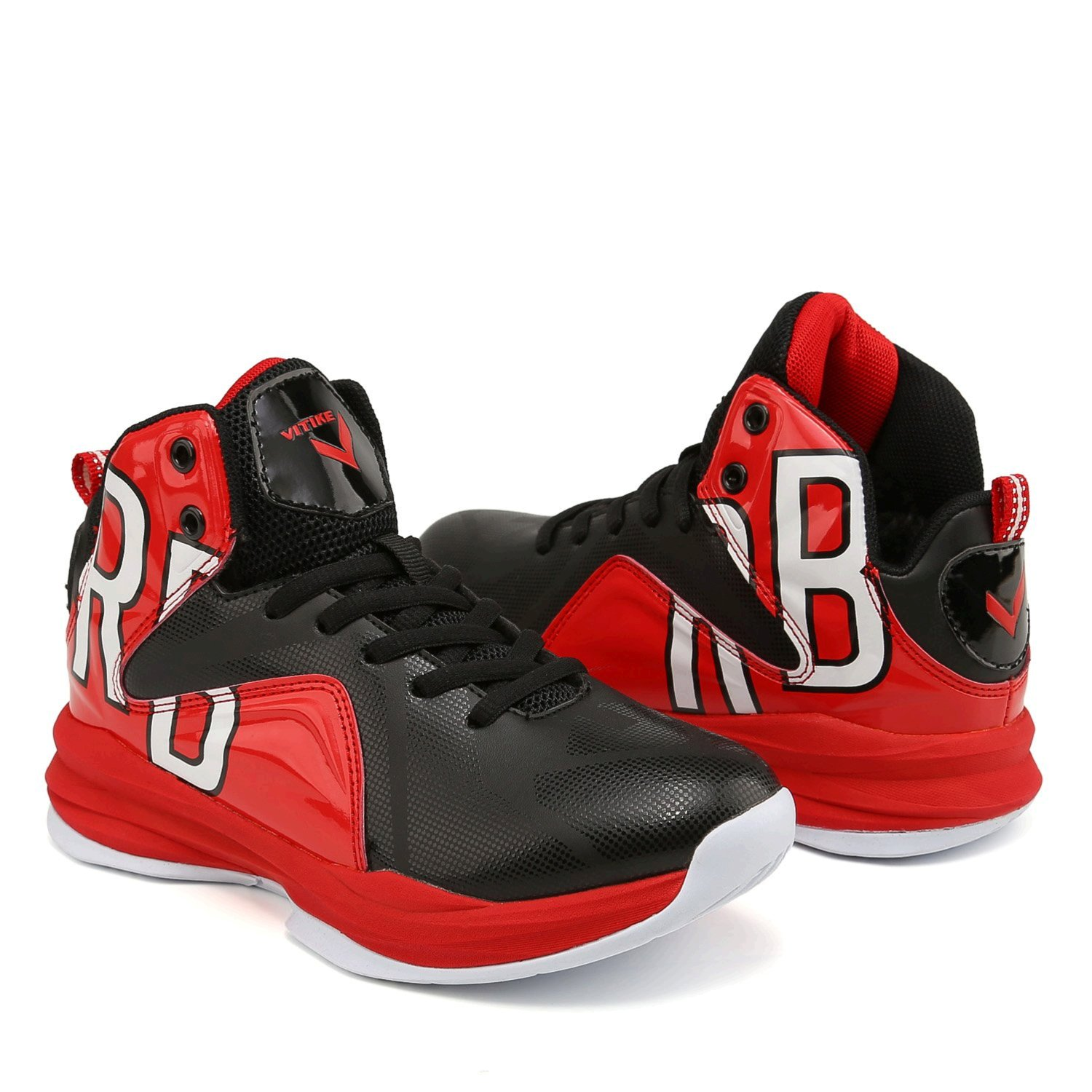 WETIKE Kid's Basketball Shoes High-Top Sneakers Outdoor ...