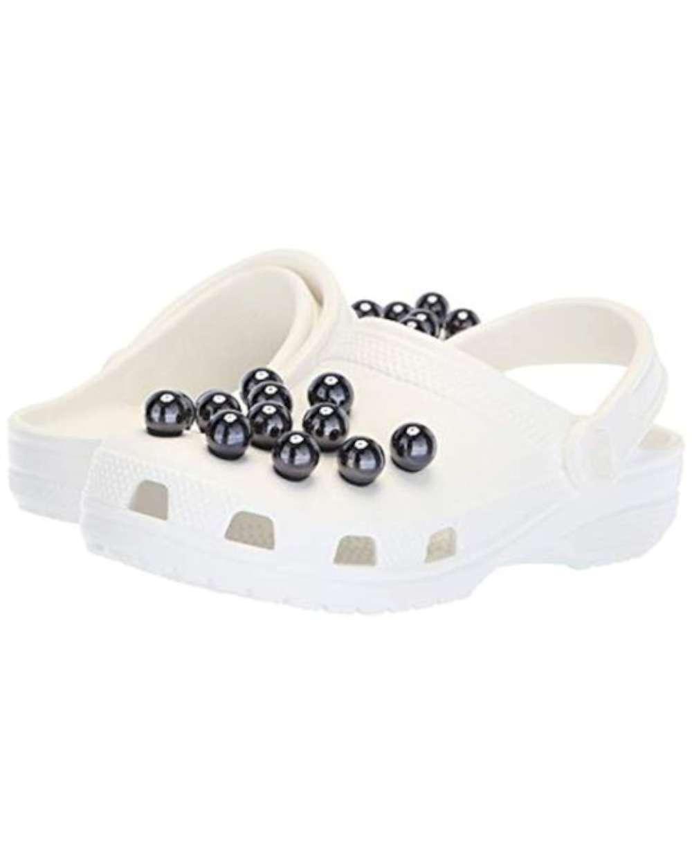 new style e72a6 c87d8 Details about Crocs Women's Clogs Black Size 4 US/- show original title