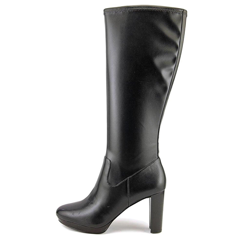 f5b378e1bd8b Nine West Womens Krayzie Leather Closed Toe Knee High Fashion Boots ...