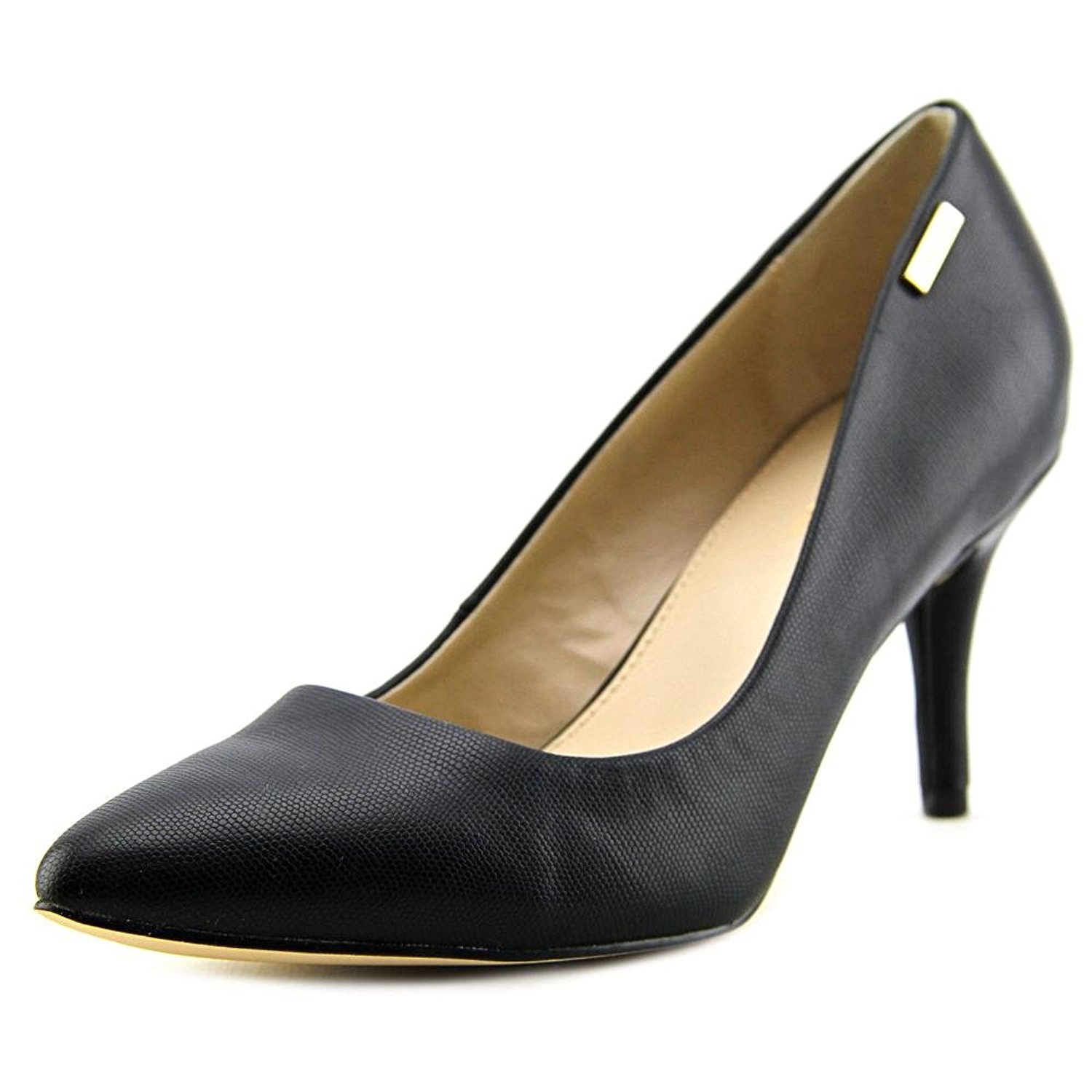 Calvin Klein Womens Kimberly Pointed Toe Classic Pumps Black Size 7.5