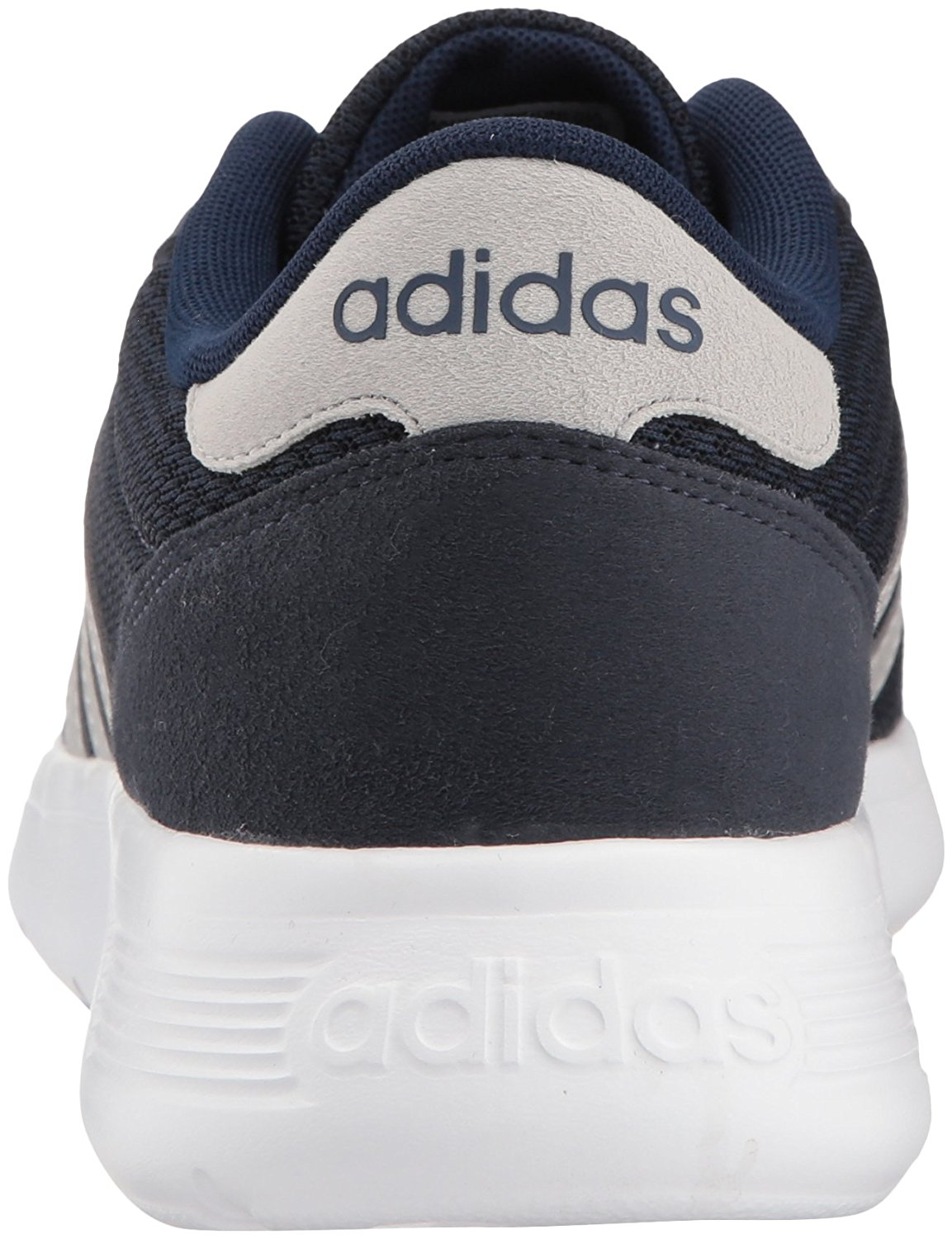 22b6db99ab54 Adidas Mens Lite Racer Fabric Low Top Lace Up Running Sneaker