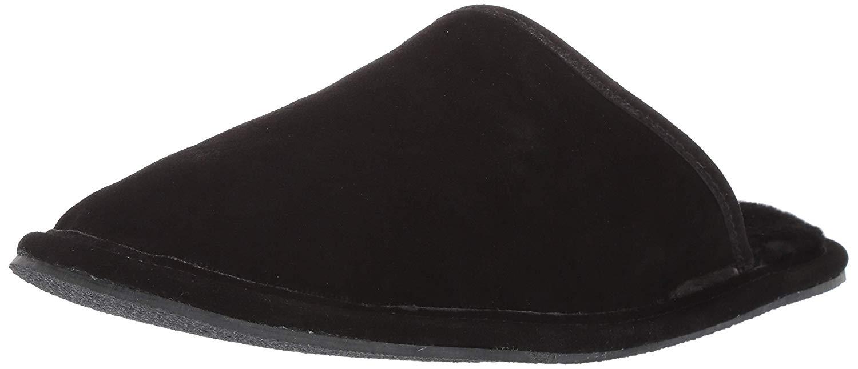 Details about L.B. Evans Hombres Slippers Black Size 10 US44 EU show original title