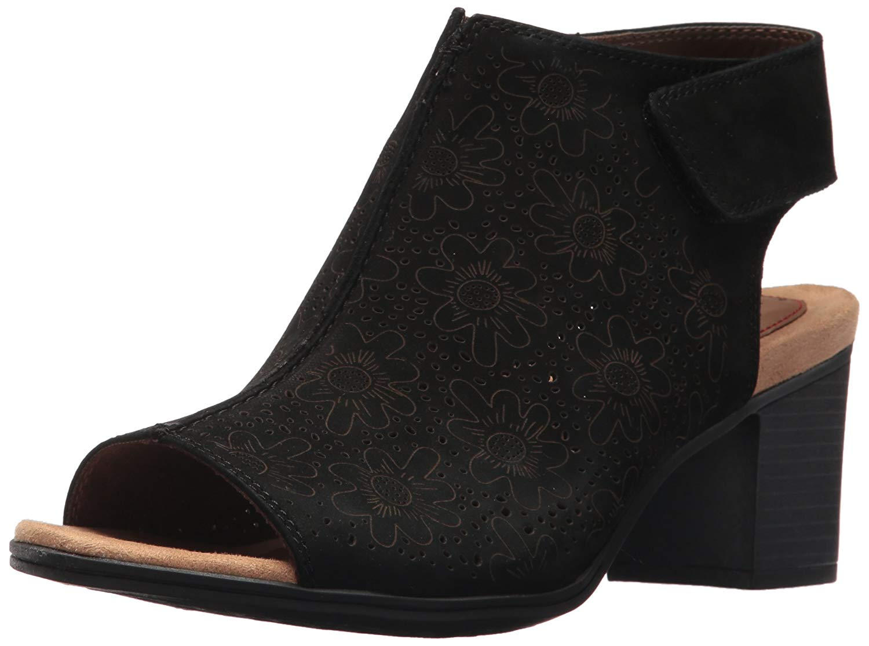 New Womens I Love Comfort Hattie Sandal Style 87626 Black 121Alr