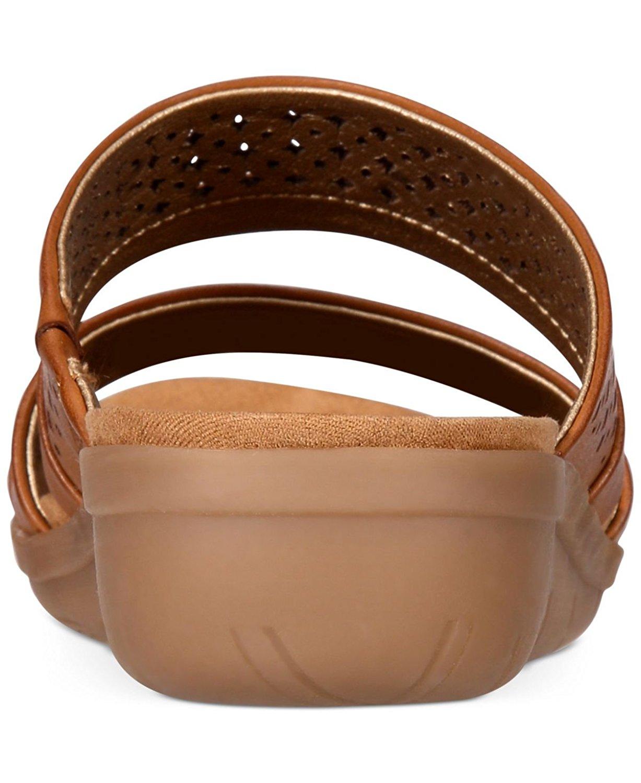 08f1c909277d Bare Traps Womens Jimina Open Toe Casual Slide Sandals
