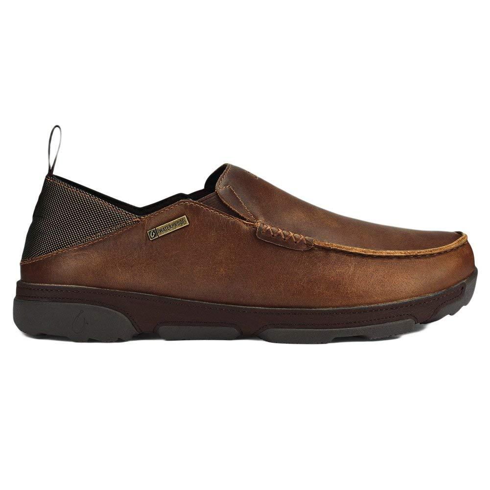 OLUKAI Na'i WP Footwear - Men's, Fox Dark Wood, Size 11.0 x7mB US   10.5 UK