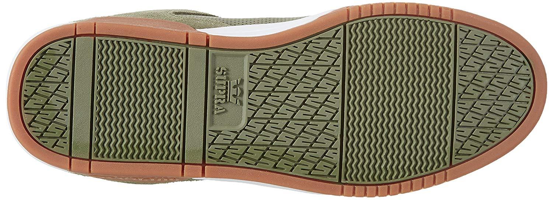 b307228b8fb7 SUPRA Mens Ellington Low Top Lace Up Fashion Sneakers